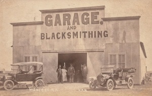 Garage and Blacksmithing, Montezuma, KS